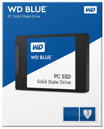 disco solido 250gb wd blue ssd 2.5 sata3 6gb/s - smal lan