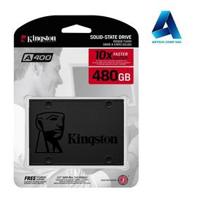 Disco Solido 480gb - Kingston Sa400s37/480g -arteus Comp Sac