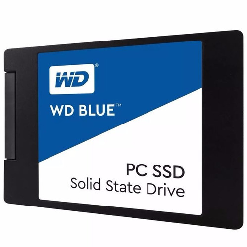 disco solido 500gb wd blue ssd 2.5 sata3 6gb/s - smal lan