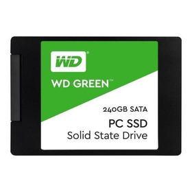 Disco Sólido Interno Western Digital Wd Green Wds240g2g0a 240gb Verde