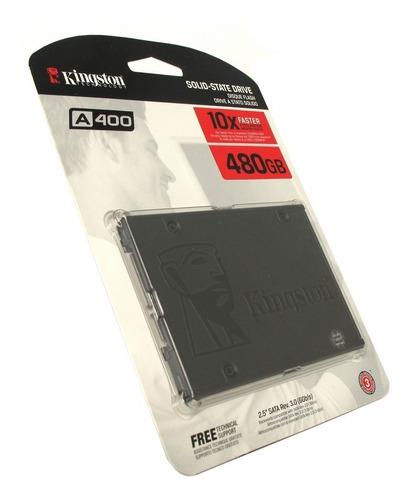 disco solido kingston 480gb a400 - pc laptop