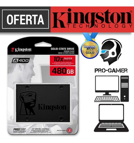 disco solido kingston 480gb interno nuevos inc iva