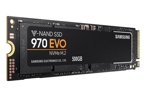 disco solido samsung 970 evo 500gb nvme pcie m.2 ssd