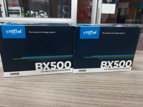 disco solido sdd crucial bx500 240gb 3d nand sata de 2,5