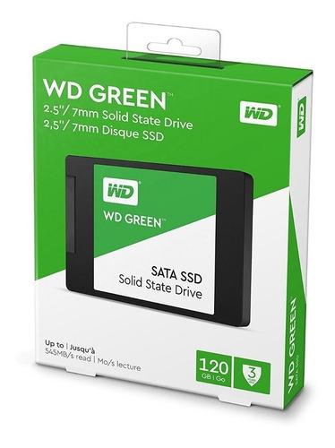 disco sólido ssd 120gb western digital wds120g2g0a - 2.5'