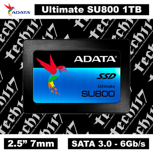 disco sólido ssd 2.5'' 7mm adata ultimate su800 1tb sata 3.0