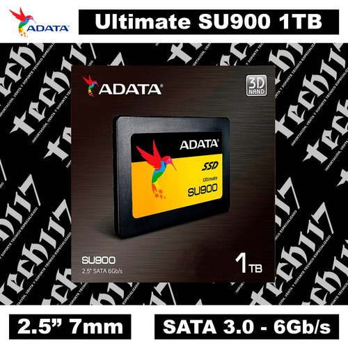 disco sólido ssd 2.5'' 7mm adata ultimate su900 1tb sata 3.0