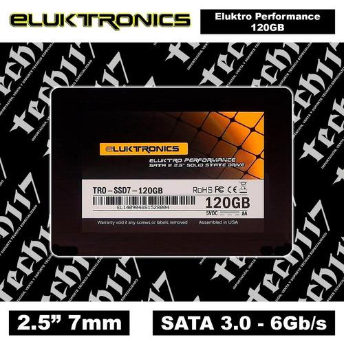 disco sólido ssd 2.5'' eluktronics eluktro 120gb sata 3.0