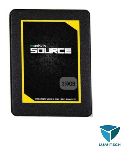 disco solido ssd 250gb mushkin source 6gb/s 2.5 para gamers