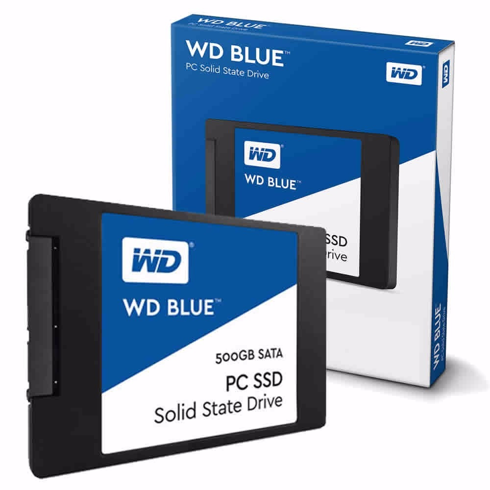 Disco Solido Ssd 500gb Wd Western Digital Blue