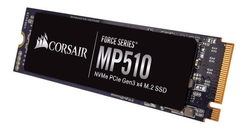 disco solido ssd corsair mp510 960gb m.2 pcie nvme 3480mb