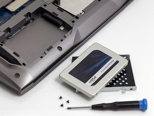 disco solido ssd crucial mx300 525gb sata 3 2.5 - 3d mac pc