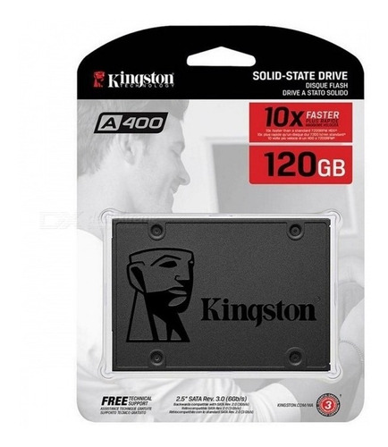 disco sólido ssd kingston a400 120gb 2.5 cuotas xellers