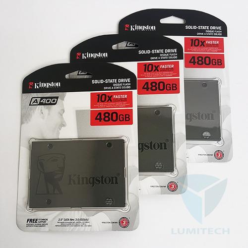 disco solido ssd kingston a400 480gb 2.5 3.0 6gb/s