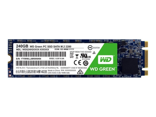 disco solido ssd m.2 2280 240gb western interno pc  sata 6gb