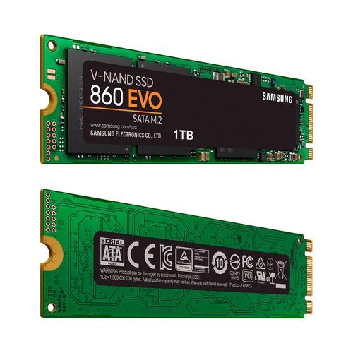 disco sólido ssd m.2 2280 samsung 860 evo 1tb sata 3.0