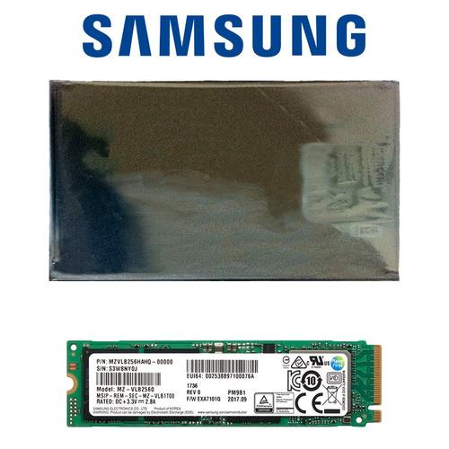 disco sólido ssd m.2 2280 samsung pm981 256gb pcie 3.0 x4