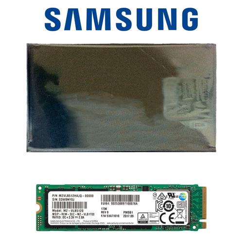 disco sólido ssd m.2 2280 samsung pm981 512gb pcie 3.0 x4