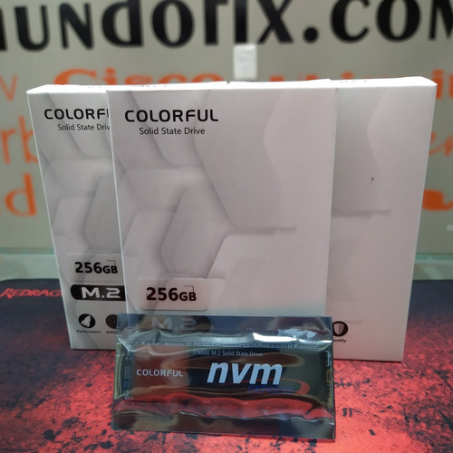 disco solido ssd nvme m2 colorful cn600 256gb pc gamer