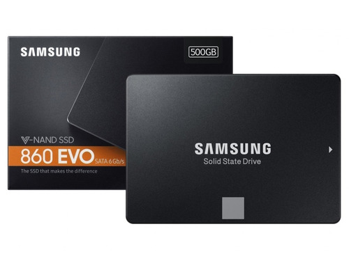 disco solido ssd samsung evo 860 500gb sata 3 2.5 3d v-nand