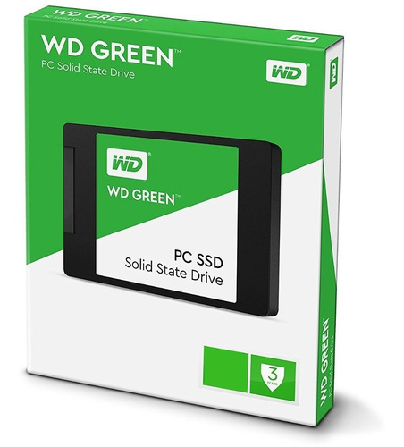 disco solido western digital green 120 gb ssd 120gb sata