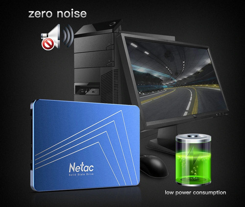 disco ssd 240gb sata 6gb/s netac n500s