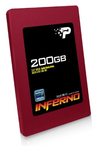 disco ssd patriot inferno 200 gb sata ii 2.5-inch solid