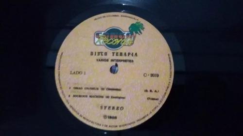 disco terapia lp vinilo soca africano reggae