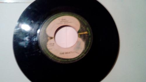 disco the beatles 45 rpm colección.