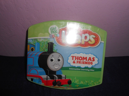 disco thomas y amigos little leaps de leap frog consola