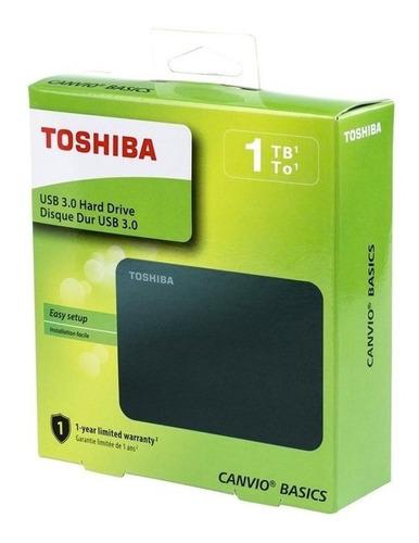 disco toshiba 1tb externo 5400rpm 2.5 black