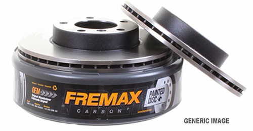 disco traseiro fremax focus 1.6 1.8 2.0 /07 bd7969 (par)