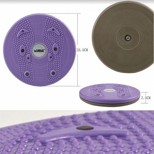 disco twister giratorio liveup fortalece músculos