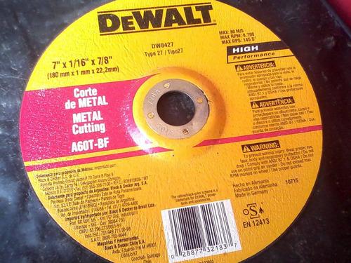 disco ultrafino dewalt de 7