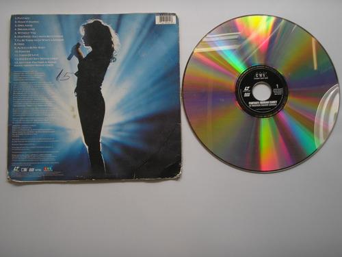 disco video laser maria carey fantasy  printed usa 1996