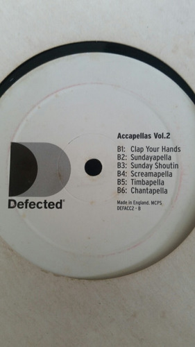 disco vinil accapellas vol 2