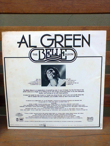 disco vinil al green the belle album lp raro