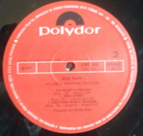 disco vinil atlanta rhythm section red tape 1976 lp raro