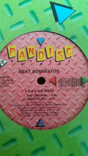 disco vinil beat dominator