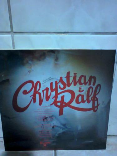 disco vinil chrystian e ralf louco por ela 1993 lp c/encarte