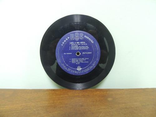 disco vinil compacto lp canta o trio cristal