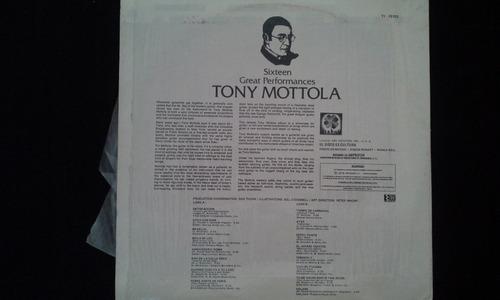 disco vinil de 16 great performances tony mottola