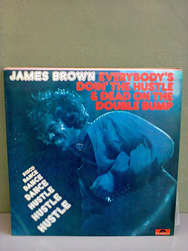 disco vinil james brown everybody's doin'the hustle