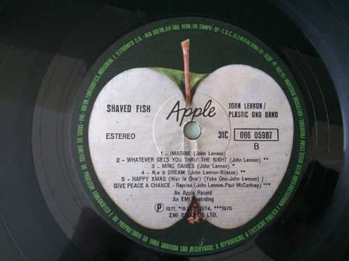 disco vinil john lennon disco apple