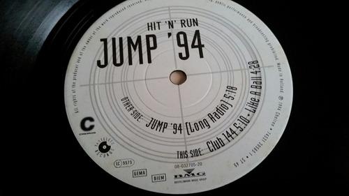 disco vinil jump'94 - hit 'n' run