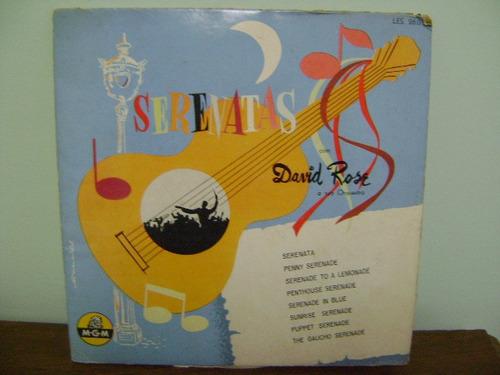 disco vinil lp 10 pol serenatas com david rose