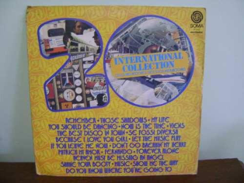 disco vinil lp 20 international collection remember shadows