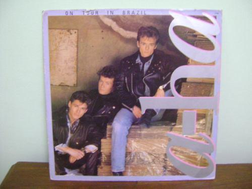disco vinil lp a-ha on tour in brazil - 1989
