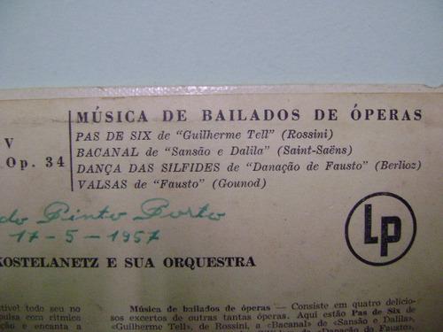 disco vinil lp andre kostelanetz capricho espanhol 1957