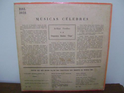 disco vinil lp arthur fiedler orquestra boston pops